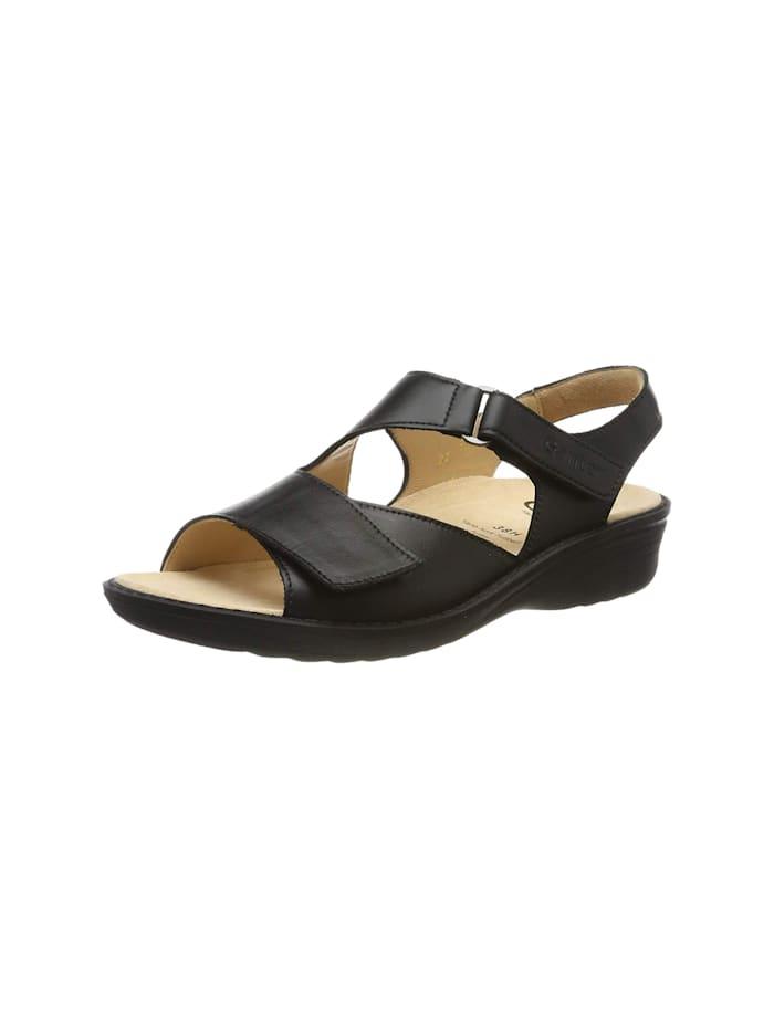 Ganter Sandalen/Sandaletten, schwarz