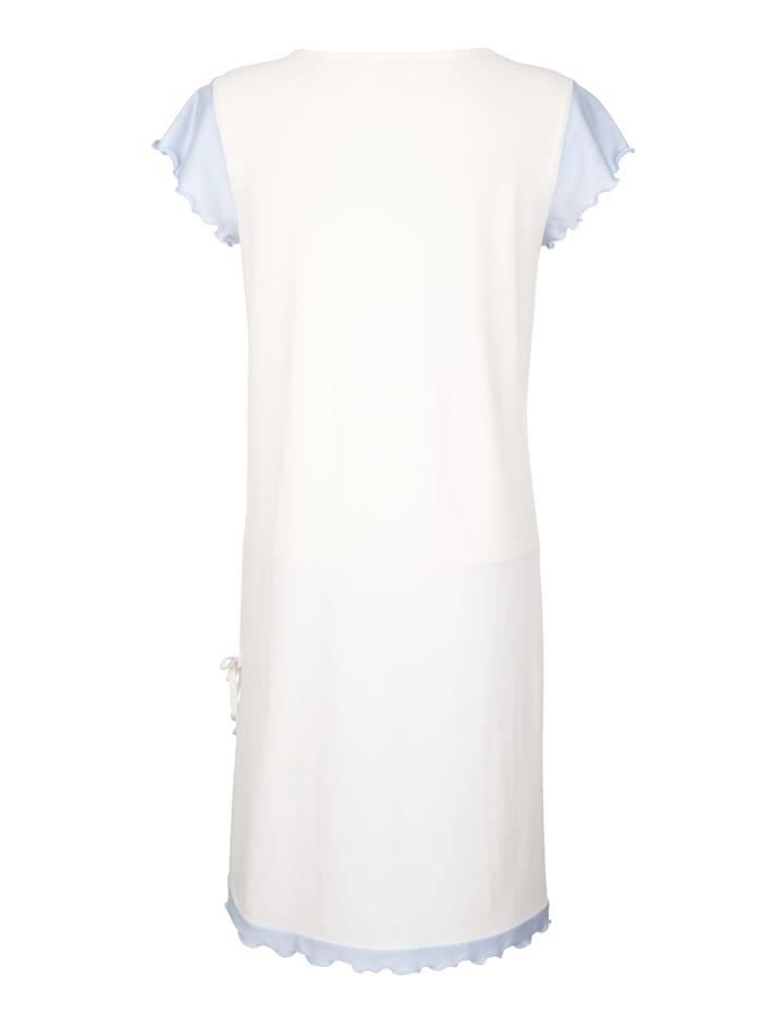 Nočná košeľa s elegantnou čipkou
