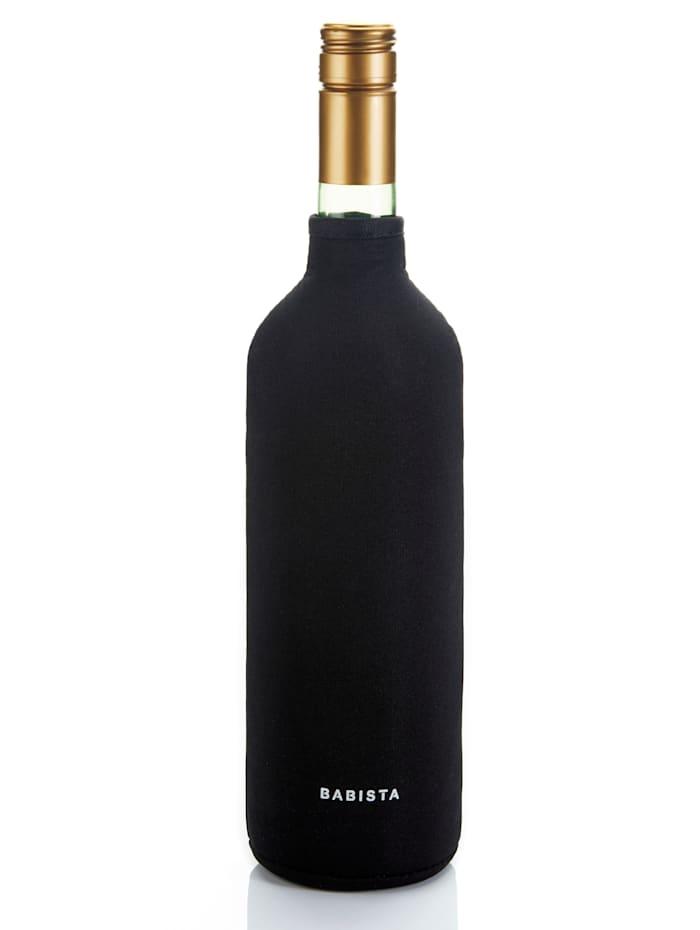 BABISTA Wijnkoelmanchet met piping, Zwart