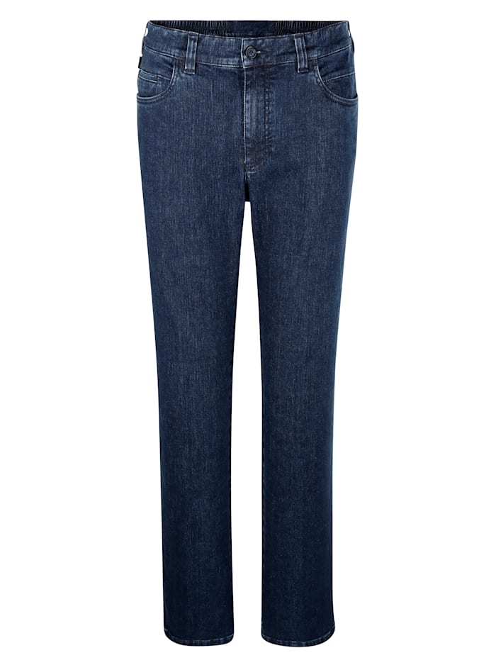 Brühl Swing-Pocket Jeans in Marken-Qualität, Blue stone