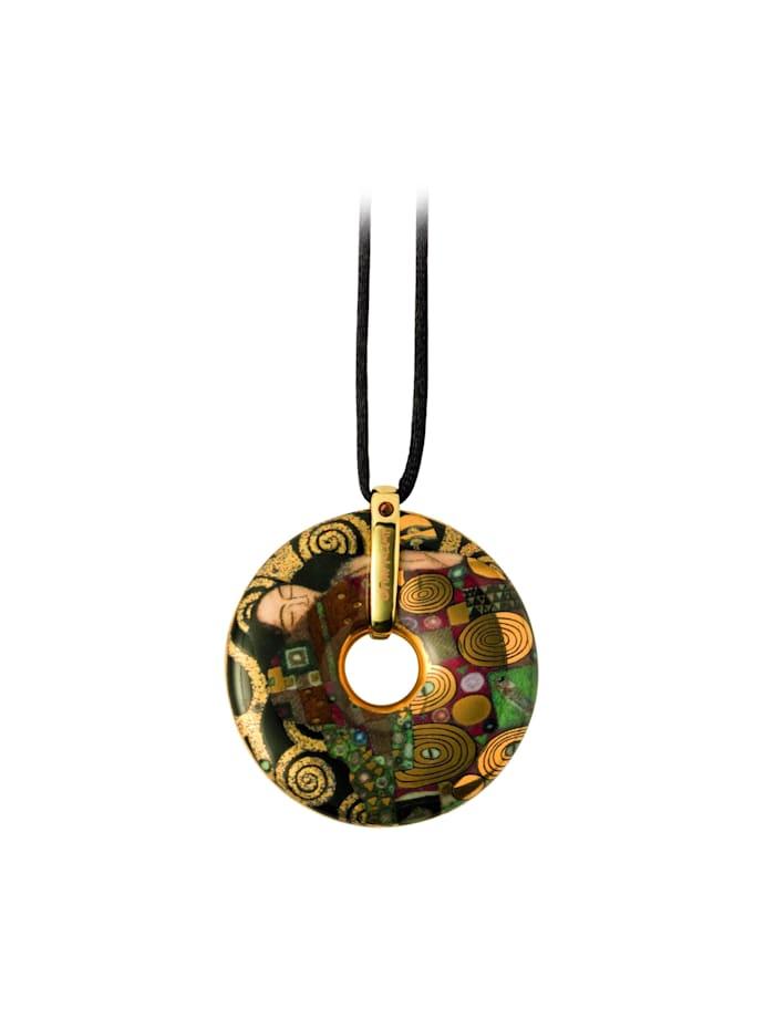 """Goebel Halskette Gustav Klimt - """"Die Erfüllung"""" Mit Swarovski(R) Kristallen"""