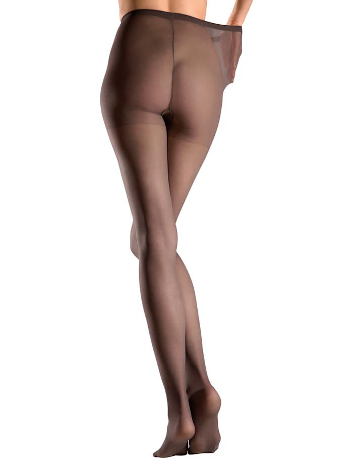 Esda Collants fins avec gousset d'aisance, Nude