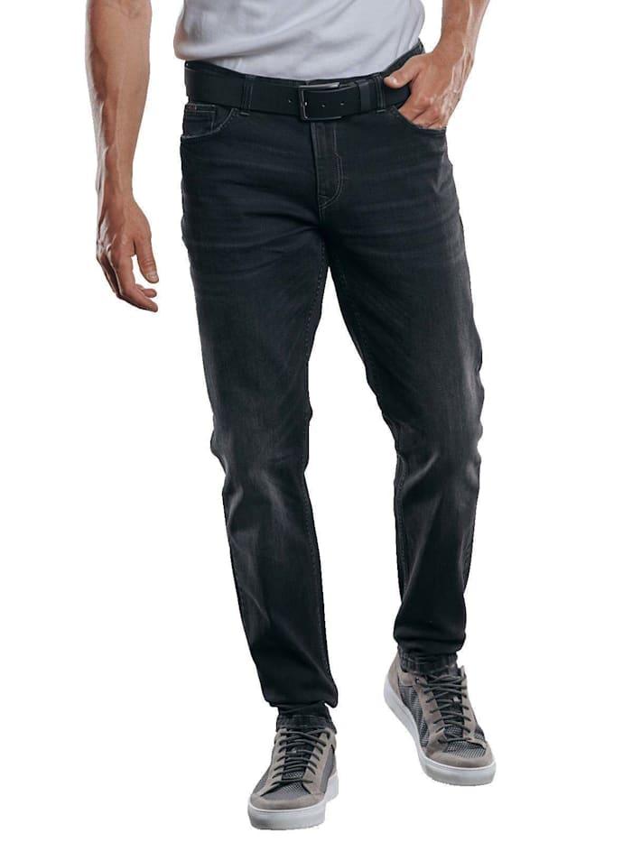 Engbers Hochelastische Jeans, Schwarz
