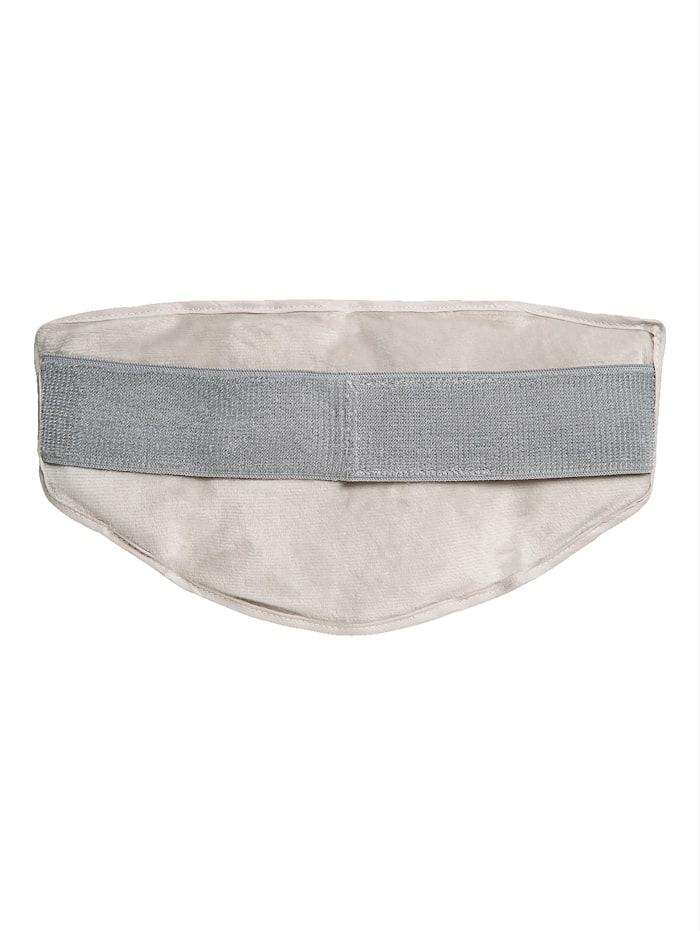 Coussin pour nuque et épaules avec un côté en peluche