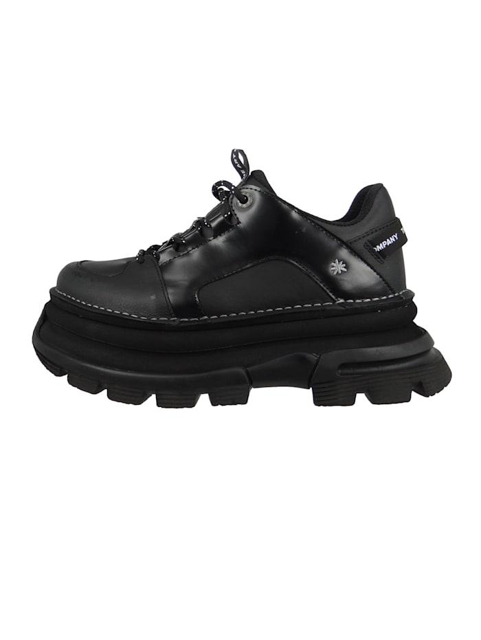 *art Damen Leder Sneaker CORE2 Black 1641, Black