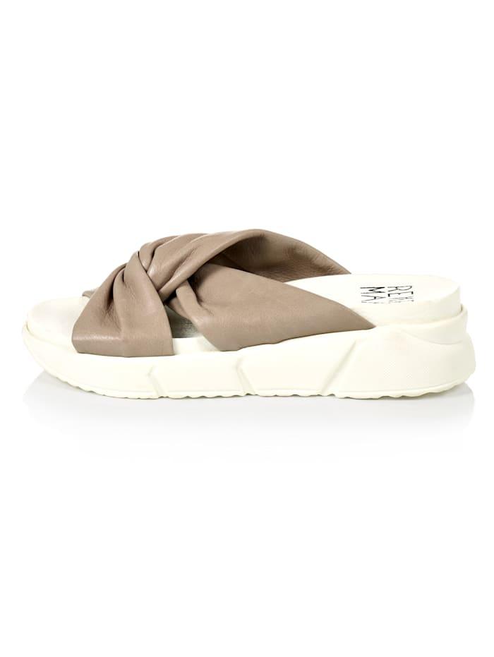 REKEN MAAR Sneaker-Sandale, Beige