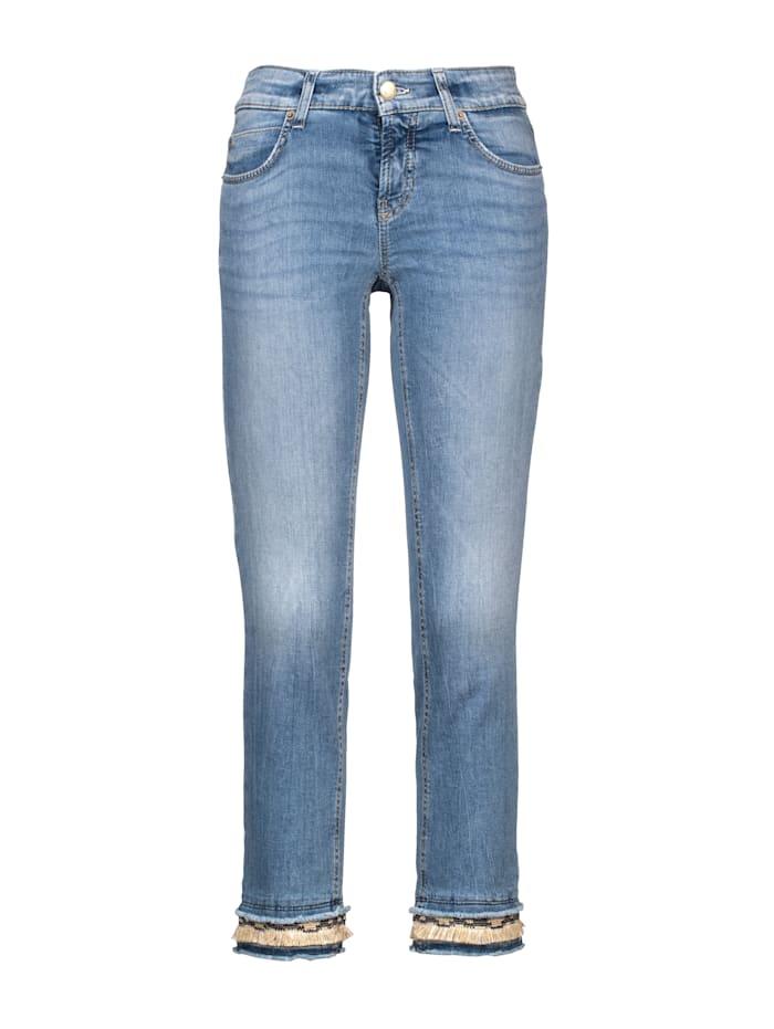 Jeans mit tollem Saumabschluss