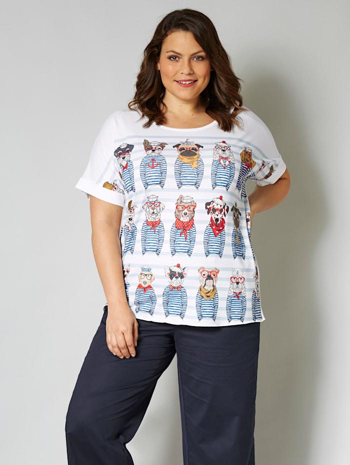 Koirakuvioitu paita