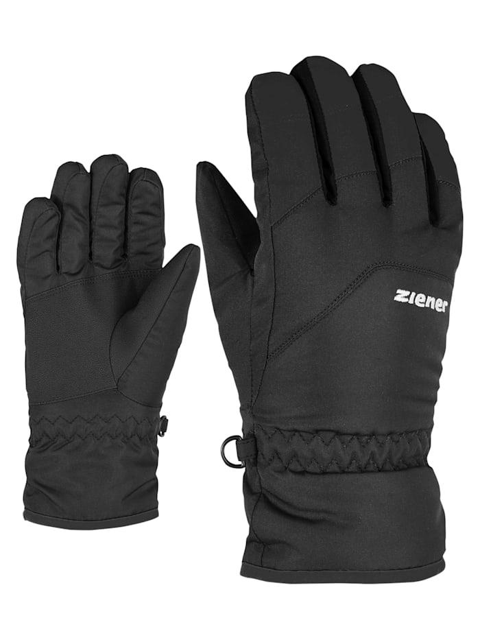 Ziener LANDO glove junior, Black