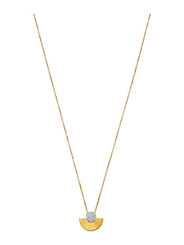 Amara Diamant Collier aus Diamanten, Weiß