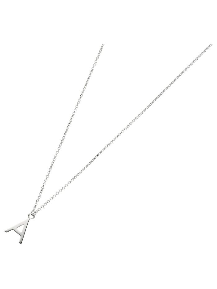 Smart Jewel Collier Buchstabe A, Silber 925, Silber