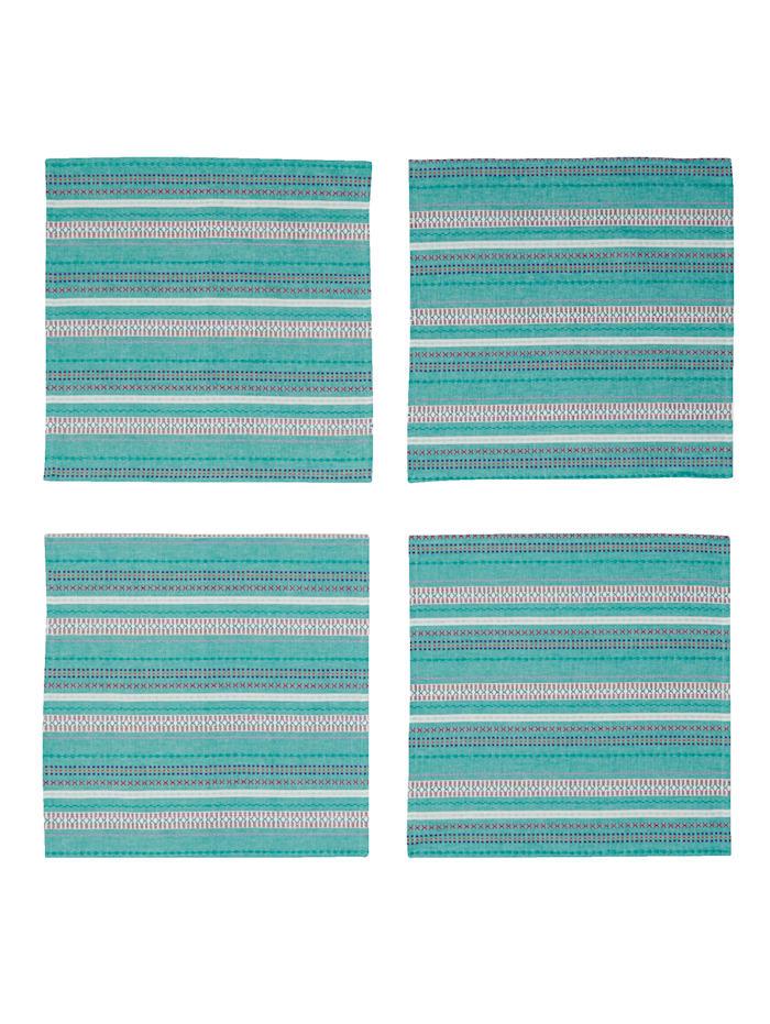 Lot de 4 serviettes de table