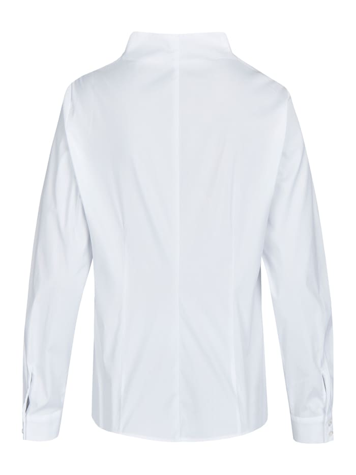 Elegante Bluse mit Stehkragen