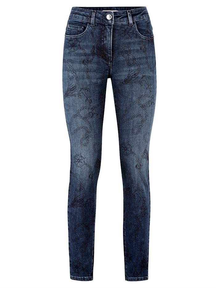 Jeans met exclusieve print