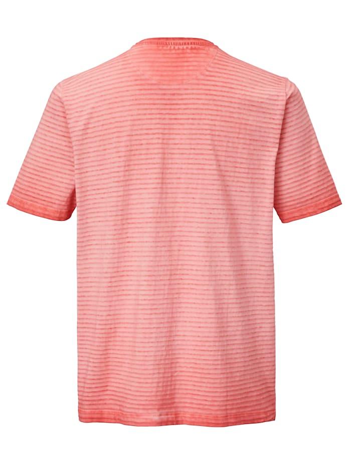 Henleyshirt im Used-Look