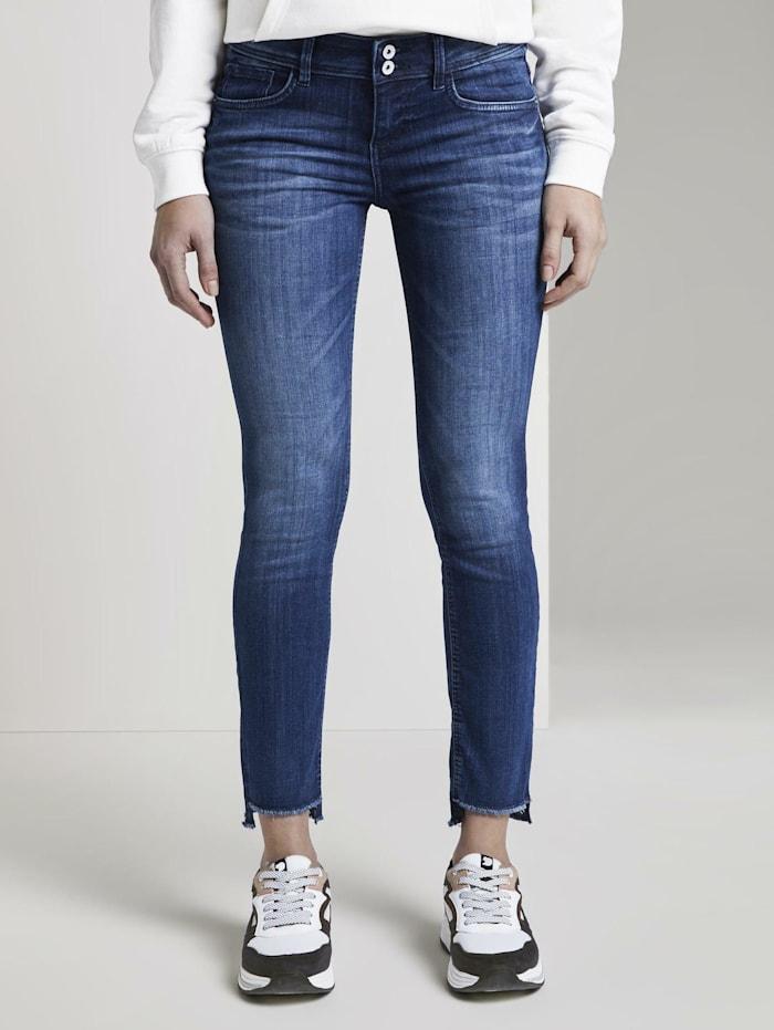 Tom Tailor Carrie Slim Jeans, Used Mid Stone Blue Denim