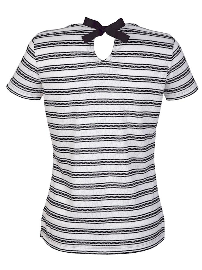 Shirt met ajourpatroon