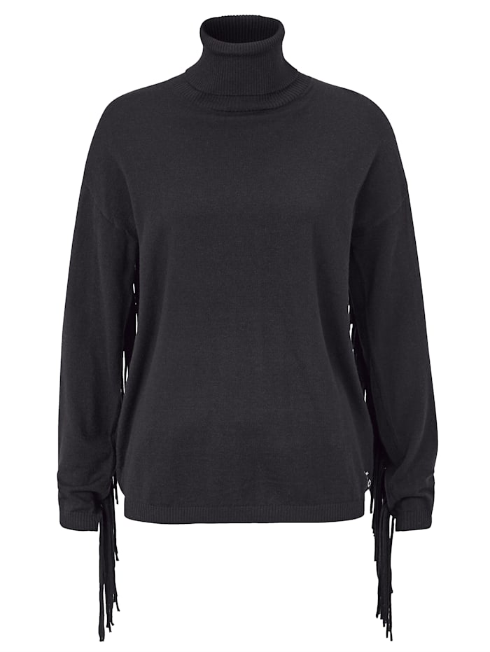 REPLAY Pullover, Schwarz