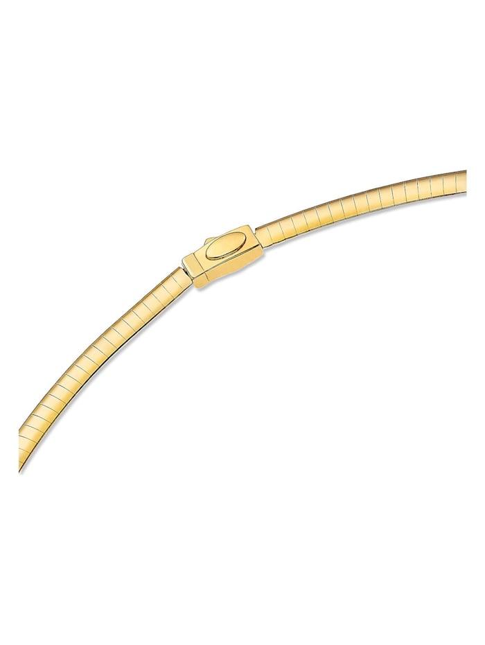 CHRIST Gold Damen-Halsreif 925er Silber, 585er Gelbgold