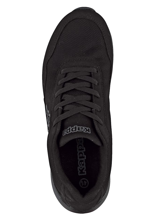 Trainers with mesh panel
