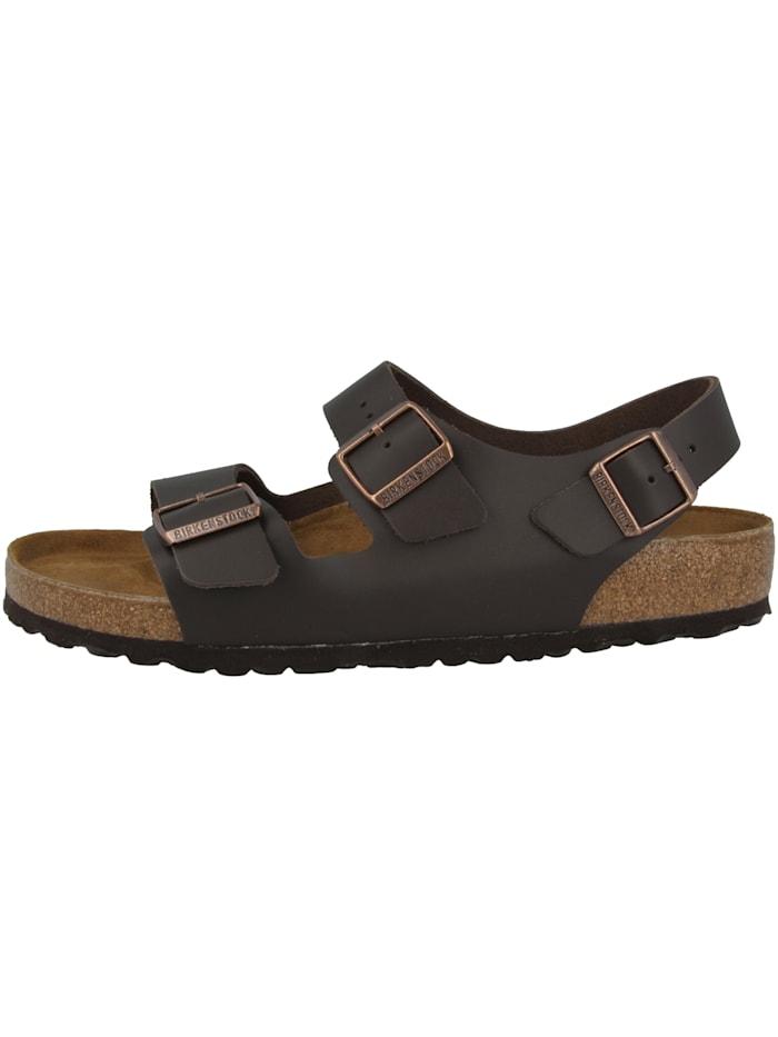 Birkenstock Sandale Milano Naturleder normal, braun
