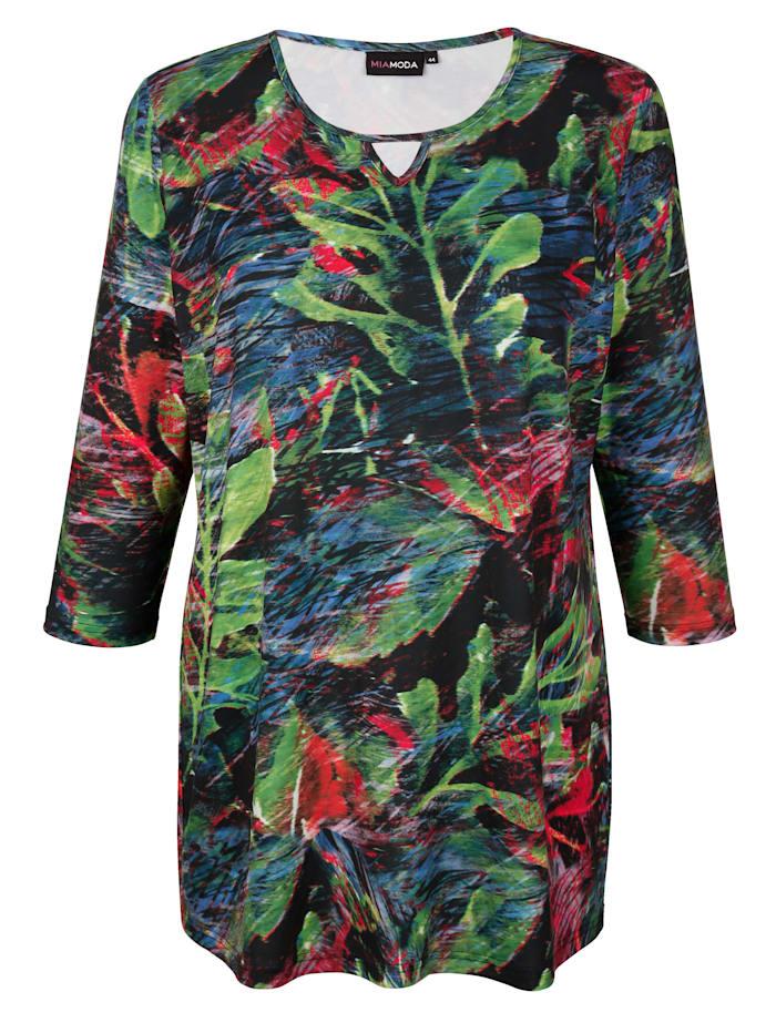 Shirt mit floralem Muster