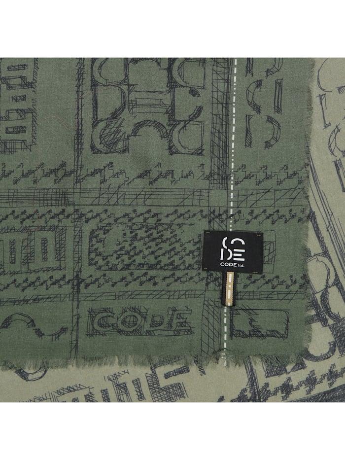 Premium Schal aus Modal und Kaschmir - Made in Italy