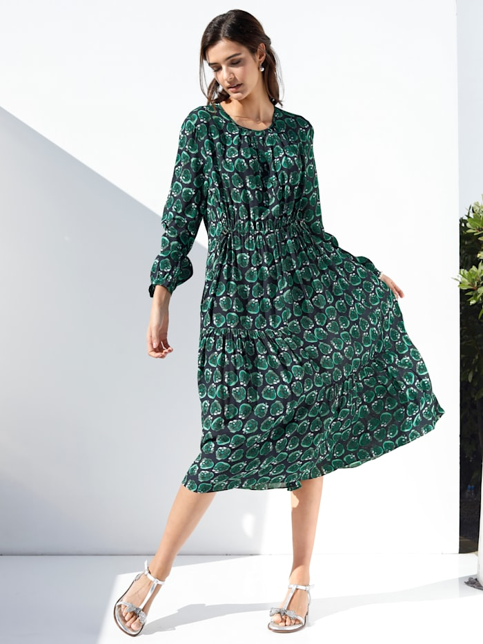 Lieblingsstuck Kleid Mit Grafischem Muster Allover Klingel