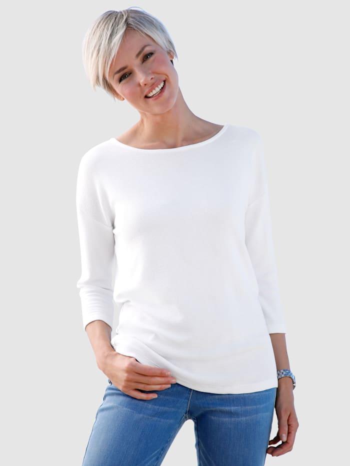 Dress In Shirt mit Rückendetail, Ecru