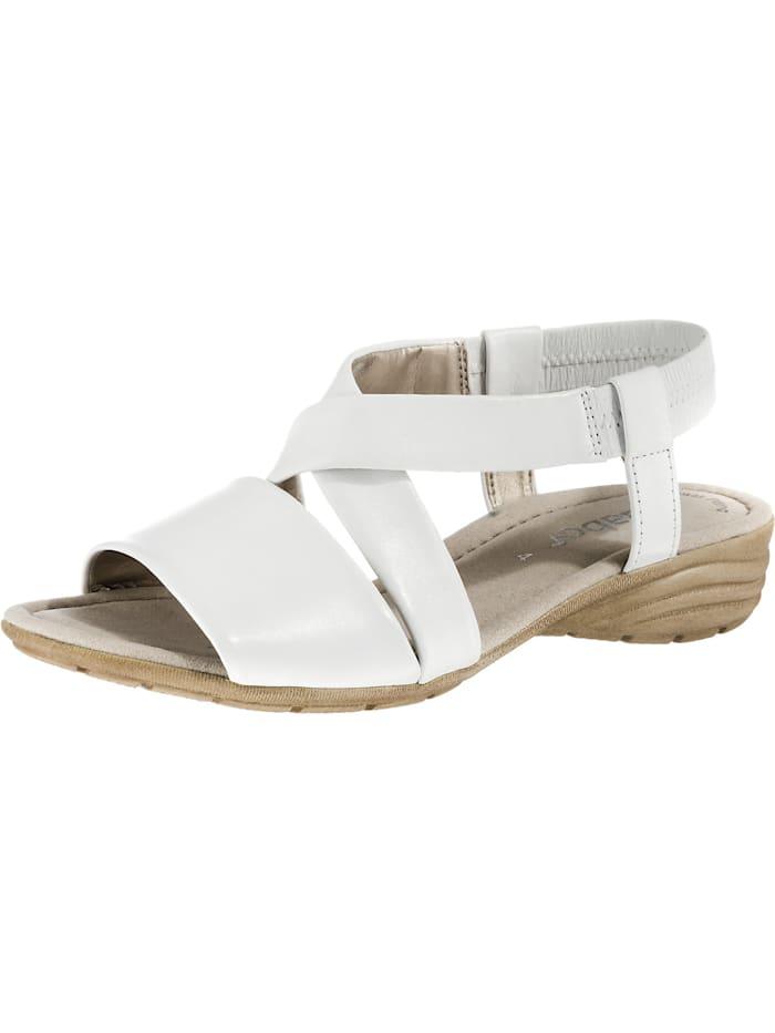 Gabor Klassische Sandalen, weiß