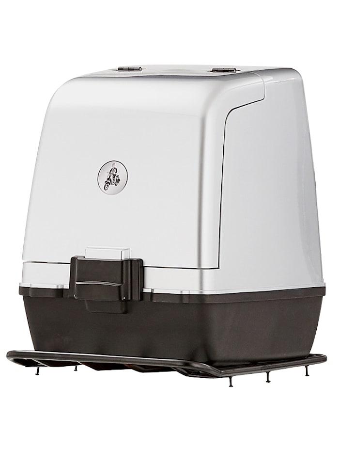 SANTA TINA Gepäckbox-Set zu 3-Rad Napoli mit Einzelradaufhängung 45 km/h, Silberfarben