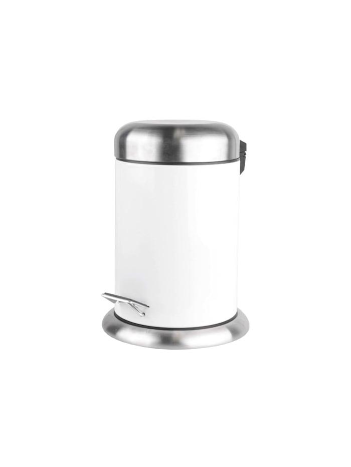 Neuetischkultur Abfalleimer 3 Liter, Weiß