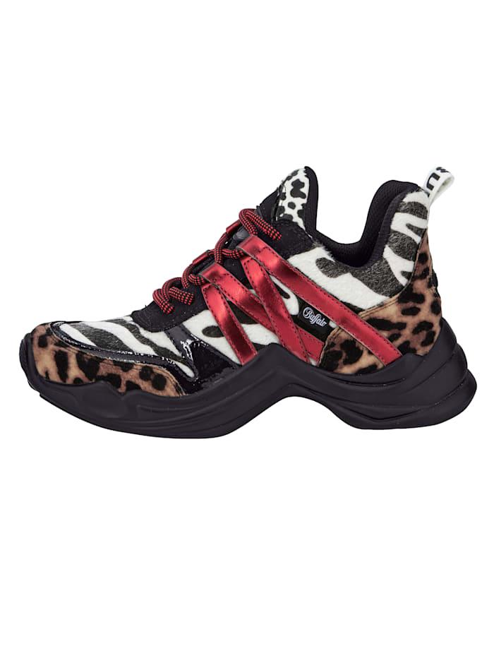 Sneaker in animallook