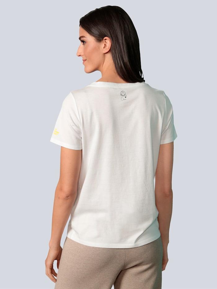 T-Shirt mit glitzernden Steinen