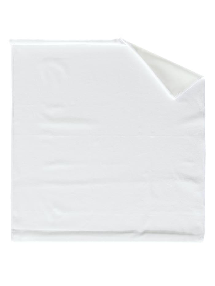 Frohn Molton steeklaken van comfortabel materiaal, wit