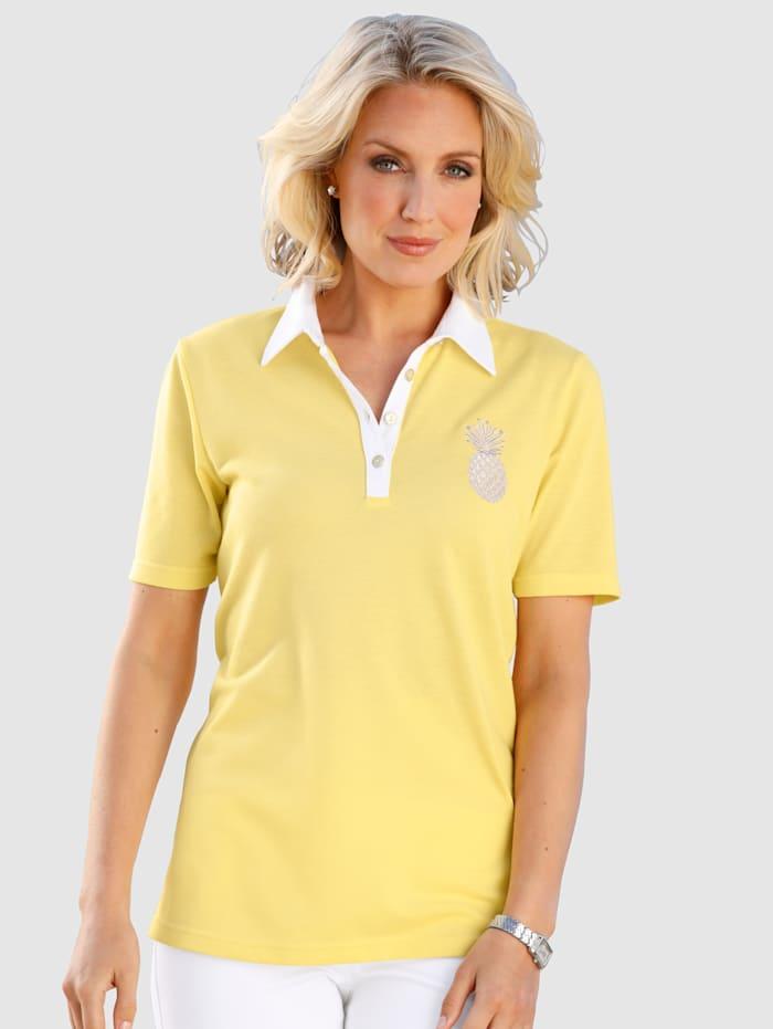 Polo Shirt Pineapple embroidery