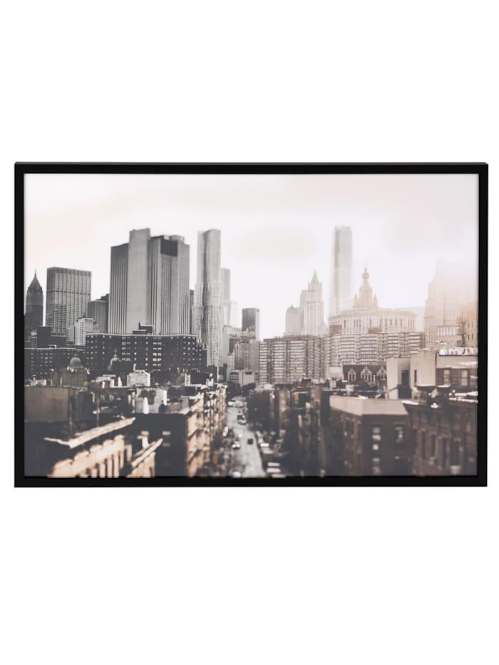 IMPRESSIONEN living Bild, City, multicolor