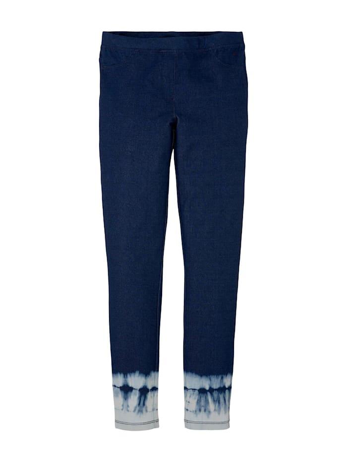 Tom Tailor Leggings mit Farbverlauf, kids blue denim