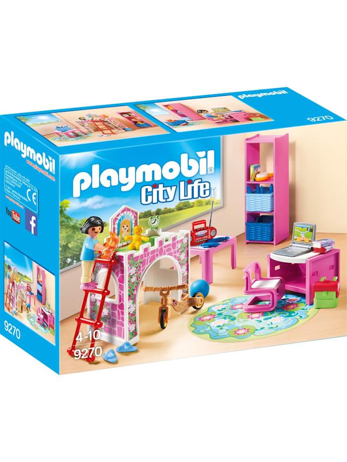 PLAYMOBIL Konstruktionsspielzeug Fröhliches Kinderzimmer, bunt/multi