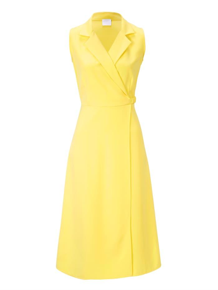 REKEN MAAR Kleid, Zitronengelb