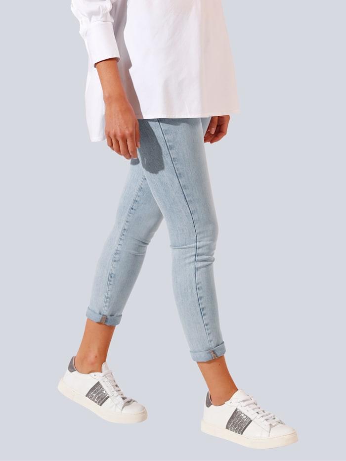 Jeans met lichte wassing