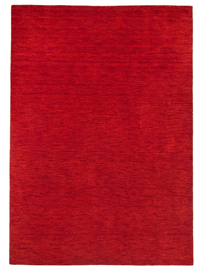 Theko®die Markenteppiche Handarbeitteppich Haltu, Rot