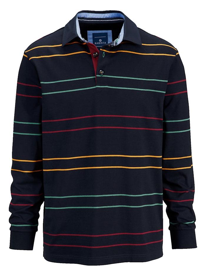 Sweat-shirt rayures colorées