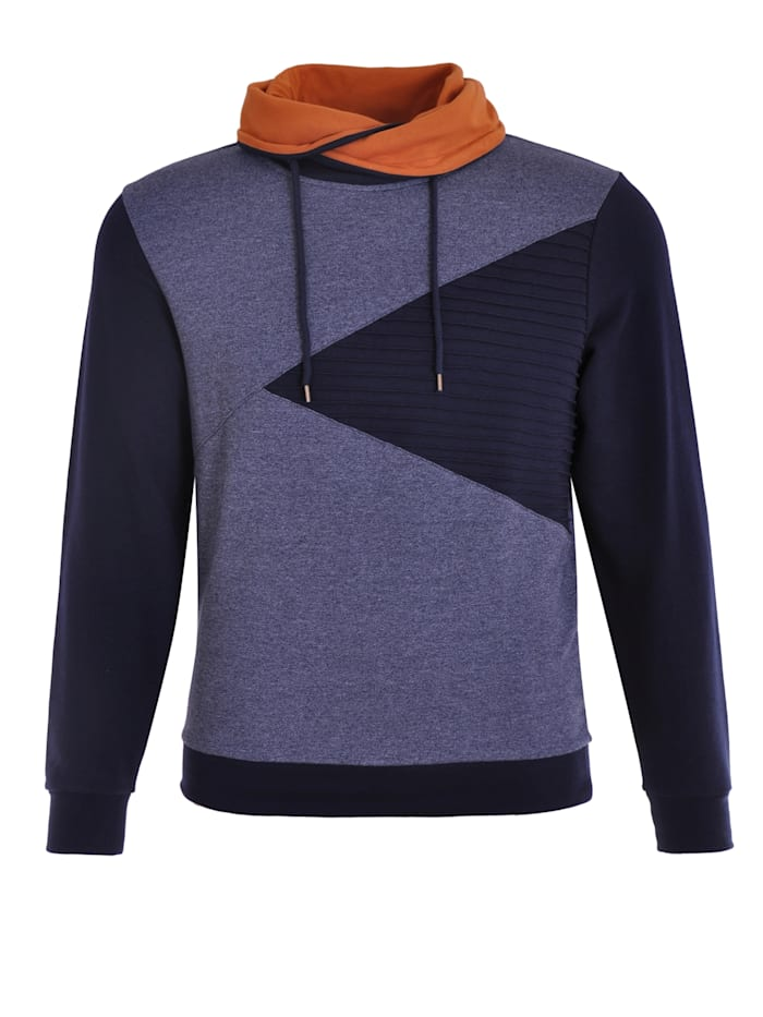 Navigazione Graphisches Sweatshirt, navy mel.