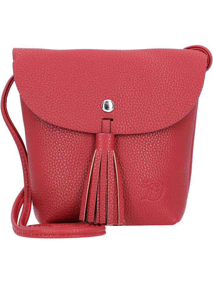 Tom Tailor Denim Ida Mini Bag Umhängetasche 17 cm, mid red