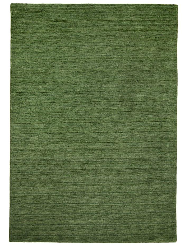 Theko®die Markenteppiche Handarbeitteppich Haltu, Grün