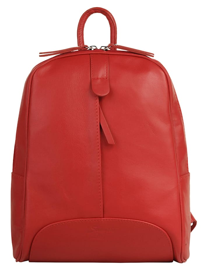 Samantha Look City Rucksack, rot