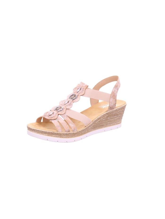 Rieker Sandale Sandale, Rosa