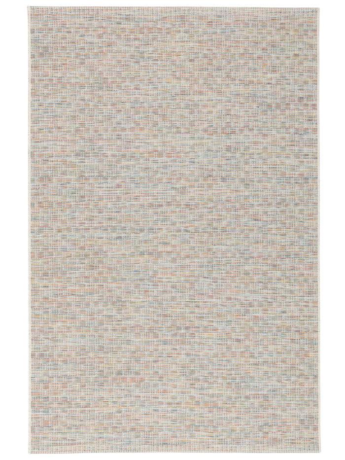 Pergamon In- und Outdoor Teppich Flachgewebe Carmel Meliert, Bunt