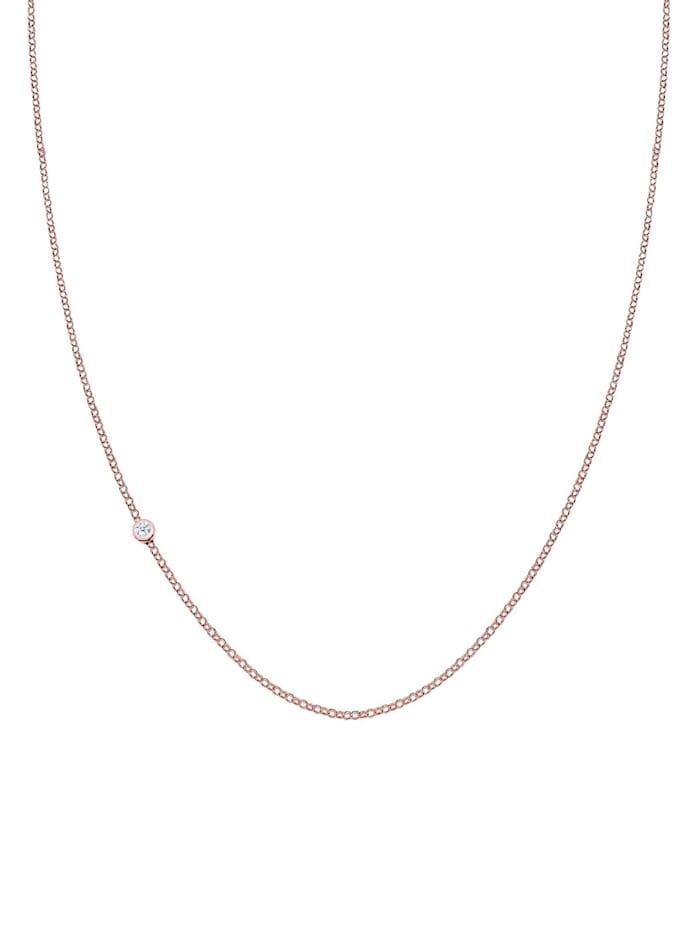 Halskette Basic Diamant 925 Sterling Silber